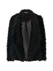 Nelly Long Sleeve Fluffy Jacket