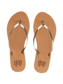 Lux Vegan Sandals in Henna