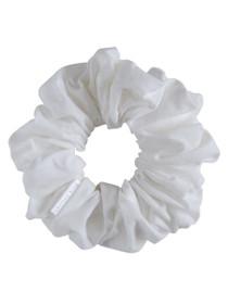 Classic White Scrunchie