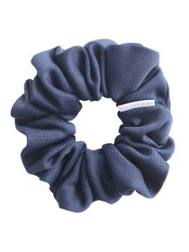 Navy Ink Scrunchie