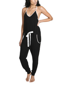 High Society Sleeveless Jumpsuit in Black