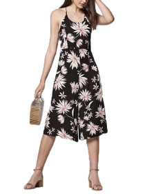 Shades Of Dawn Floral Wide Leg Jumpsuit