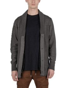 Salem Knit Shawl Collar Cardigan