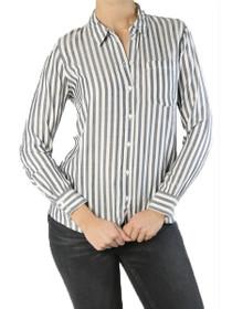 Akira Long Sleeve Stripe Pocket Shirt