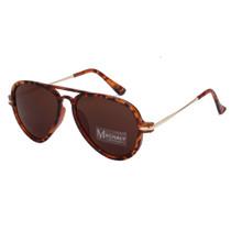 Aviator Style Tortoise Sunglasses