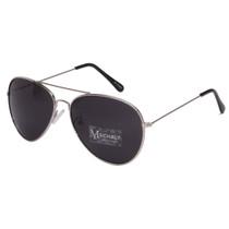 Aviator Style Silver Sunglasses