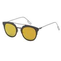 Square Style Mirrored Sunglasses