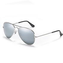 Aviator Style Mirrored Sunglasses