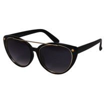 Oval Style Statement Sunglasses