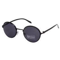Round Style Black Sunglasses