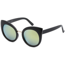 Round Cat Eye Style Sunglasse