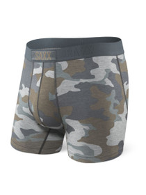 Vibe Boxer Brief in Grey Supersize Camo