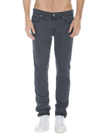 Jimmy-Lumina Twill Regular Rise Denim in Steel