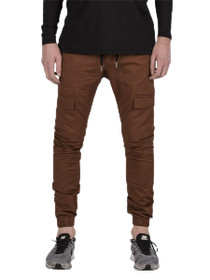 Sureshot Cargo Jogger in Dark Bronze