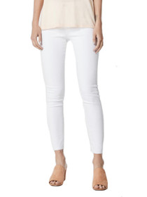 Farrah Skinny Ankle Denim in White