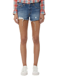 501 Distressed Denim Short in Back To Your Heart
