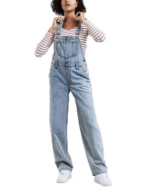 Baggy Denim Overall in Miss Twin Peaks