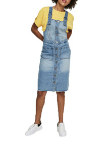 Jenny Denim Dungaree Dress