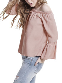 Sandy Off The Shoulder Ruffle Top