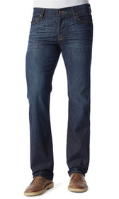 Standard Straight Leg Denim in Monaco Blue