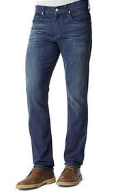 Modern Straight Leg Denim in Brilliant Blue