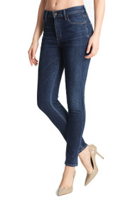 Rocket Highrise Skinny Denim in Crispy