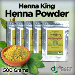 Henna King Henna Powder (500 grams)