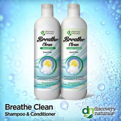 Breathe Clean Unscented Shampoo & Conditioner Combo Pack