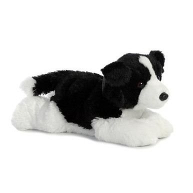 12 inches long. Super soft plush material. Detail and cuddly softness.