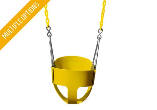 Full Bucket Toddler Swing