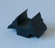 Base  block size  width 12.5mm x 6mm deep total width 33mm.