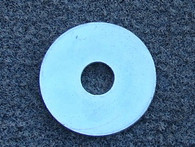 "Mudguard Washer Zinc Plated 5/16"" hole x one and 1/4"" diameter"