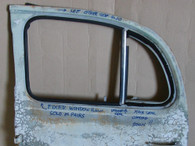 Austin A30 4 door  Rear door fixed window sea.l Sold in Pairs