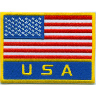 Flag + USA Patch
