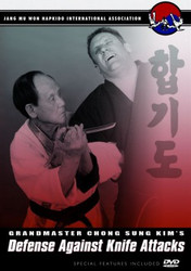 Hapkido DVD; Vol.4; Defense Against Knife Attacks