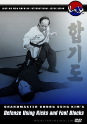 Hapkido DVD; Vol.5;Defense Using Kicks/Foot Blocks