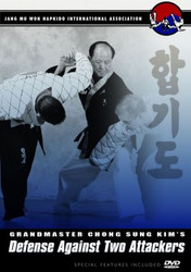 Hapkido DVD; Vol.7; Defense Against Two Attackers