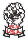 Goju USA Patch