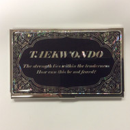 Business Card/Credit Card Carrier - TKD English