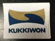 "Kukkiwon Patch 3.5"" x 2.75"""