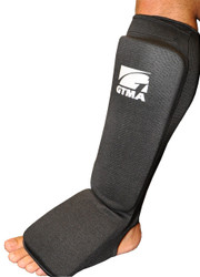 GTMA Cloth Shin & Instep Protector with Thicker Pads