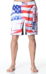 Fight Shorts - Americano White