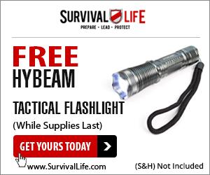 Tactical Flashlight Free w/s&h