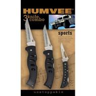 Humvee Knives 3Pk
