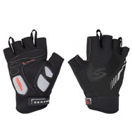 RX Men's Short Finger Gloves by Serfas for utmost in comfort and support.