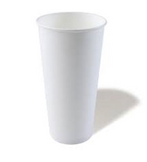 24oz Milkshake Cups - White