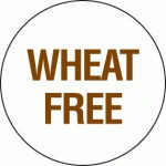 75005 Food Advisory 24mm Circles Removable - Wheat Free