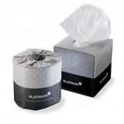 936CW 2 Ply Platinum Facial Tissues 90 Sheets