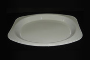 245 x 330 Genfac Large Oval Plates White