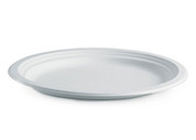 "12.5"" x 10"" Oval Biocane Plate"